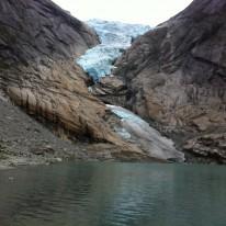 Glaciar Briksdall, Noruega